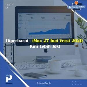 Diperbarui- iMac 27 Inci Versi 2020 Kini Lebih Jos!