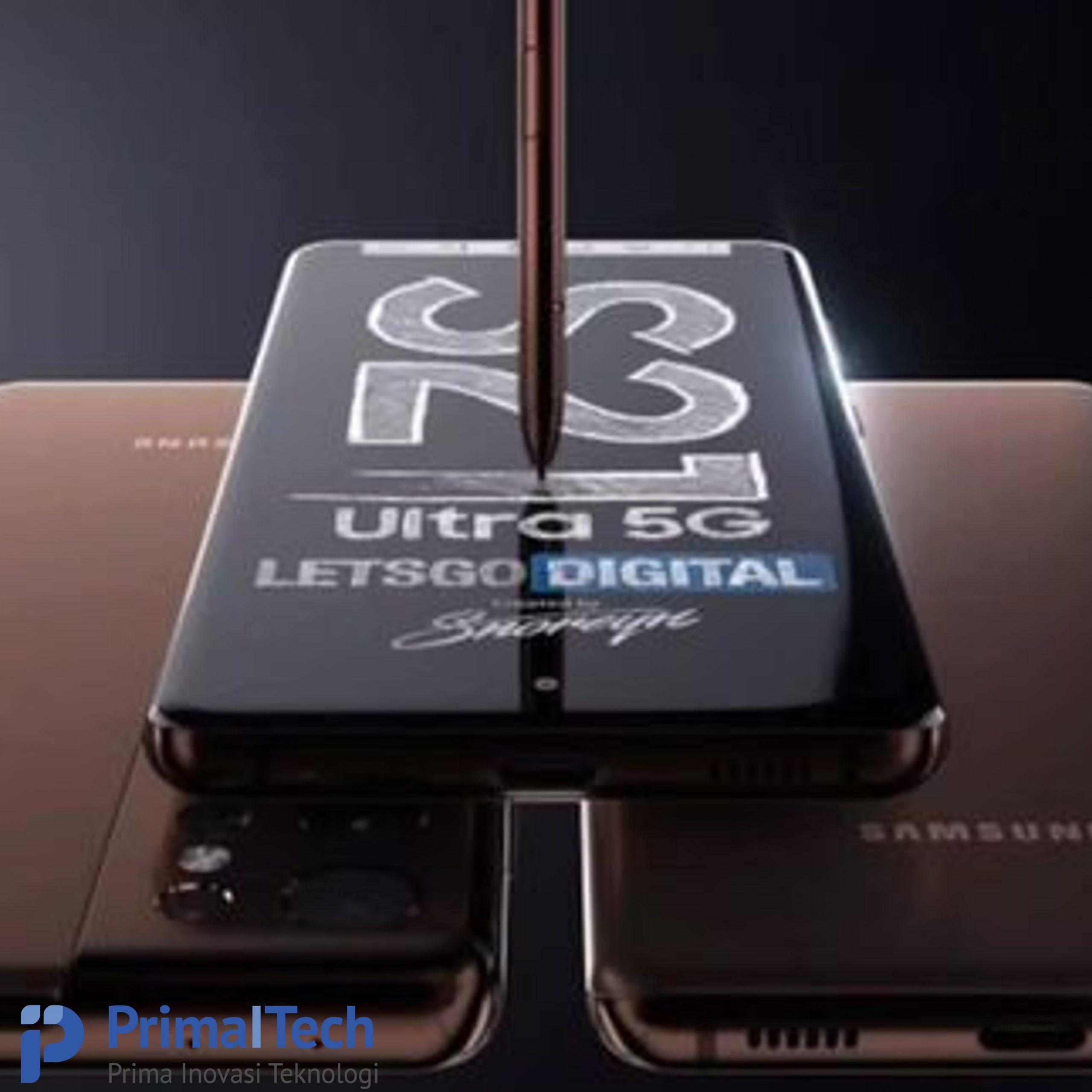 Makin Hebat Pakai S Pen di Galaxy S21 Ultra 5G,Begini Caranya!